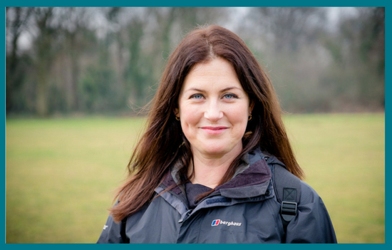 Claire Winter Nordic Walking to happiness