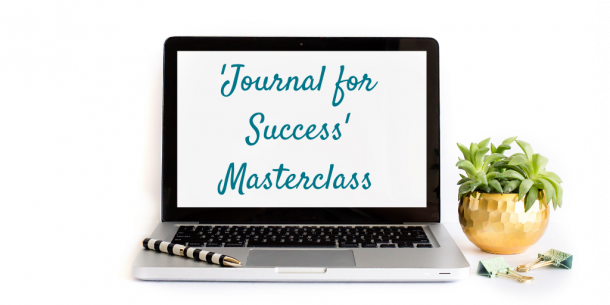 Journal for success laptop image