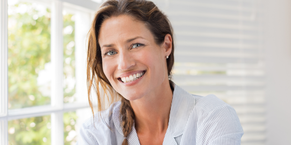 Midlife Woman adding passive income to her business